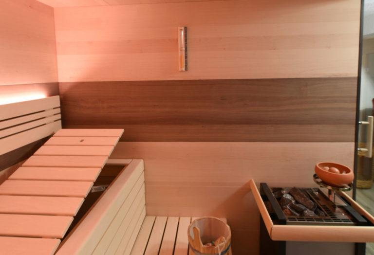 Saunaofen in Sauna