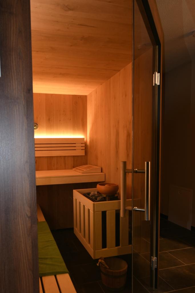 Sauna Eingangsbereich