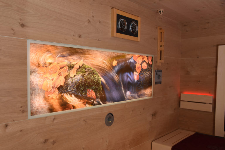 Sauna mit Bild