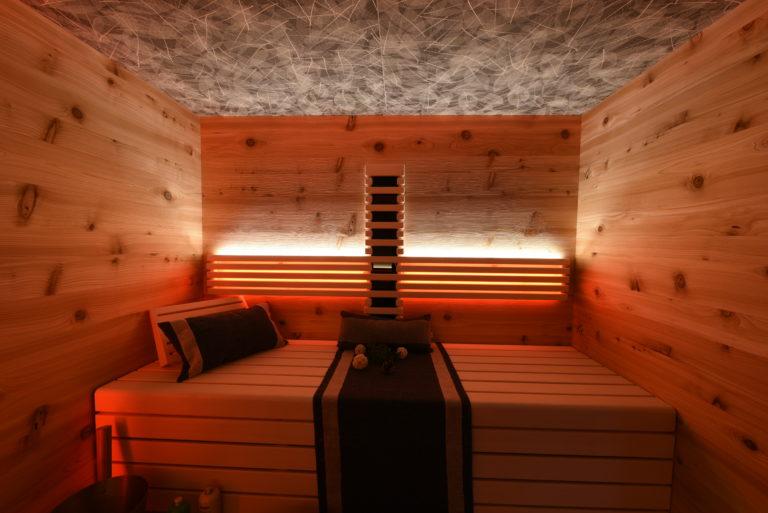 Sauna aus Saunaplatten